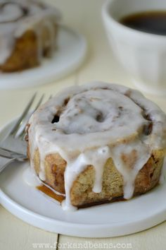 Cinnamon Rolls- gluten, egg, yeast, and dairy free! || Yum! I'm allergic to cinnamon, but I'm going to rotate it in occasionally with these... starting this morning!