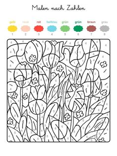 paint_to_numbers_tulpen 600 × 800 pixels… - paint_to_numbers_tulpen 600 × 800 pixels… Best Picture For school motivation For Your Taste Yo - Adult Color By Number, Color By Number Printable, Printable Numbers, Color By Numbers, Pattern Coloring Pages, Colouring Pages, Coloring Books, Preschool Art Activities, Painting Activities