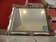 marcos recuperados y reciclados tcnica decoupage espejos