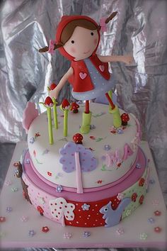 little red riding hood cake 1 | *liis* | Flickr