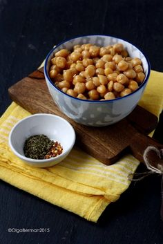 Mango & Tomato: What To Do With Chickpeas? Roasted Chickpeas With Parmesan And Basil