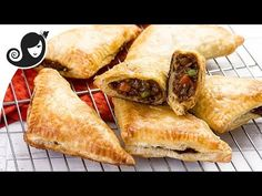 Delicious flaky vegetable pasties with vegan mince filling - these savoury hand pies can be enjoyed for any occasion. They are convenient to carry around for a vegan packed lunch, for picnics or when travelling.