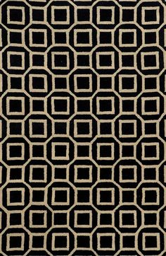 Rizzy Home 'Octagon' Hand Tufted Wool Area Rug