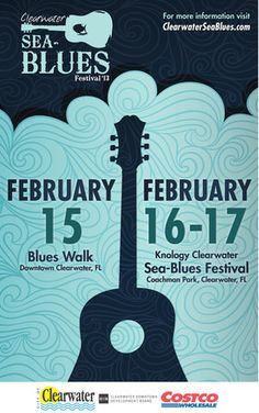 Clearwater Blues Walk and Sea Blues Festival