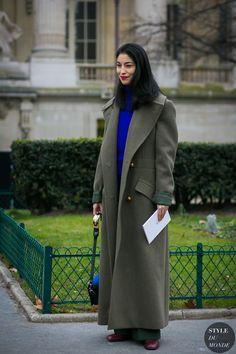 Haute Couture Spring 2017 Street Style: Caroline Issa