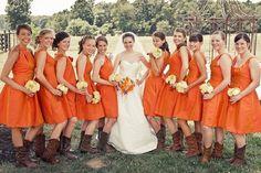 Cowgirl Wedding 2012