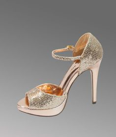 ca08fc61466f How about this platform  sandals with shimmery PU  Heeled Sandals