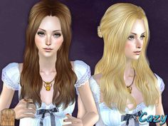Hairstyle for female, all ages.  Found in TSR Category 'Sims 2 Downloads'