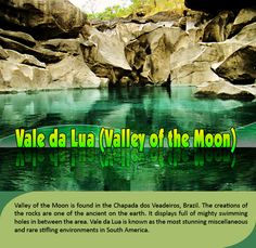 Vale da Lua (#Valley of the #Moon) - Brazil : Valley of the Moon is found in the Chapada dos Veadeiros, Brazil. The creations of the #rocks are one of the ancient on the #earth. It displays full of mighty #swimming #holes in between the area.     #valedalua #valleyofthemoon #esperanzatravel #flightstobrazil       #cheap #flights to #brazil : http://www.esperanzatravel.co.uk/cheap-flights-to-brazil.php