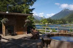 clayoquot wilderness resort in BC. oh, and you sleep in giant canvas tents with beautiful furnishings.