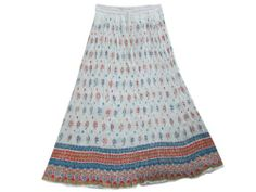 Womens White Crinkle Skirt, Long Bohemian Gypsy Skirt Mogul Interior,http://www.amazon.com/dp/B00DW148V6/ref=cm_sw_r_pi_dp_yBZ8rb1MB9BWKMPV