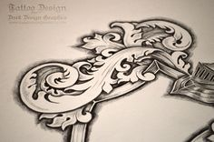 Dragon Coat Of Arms Template Tattoo