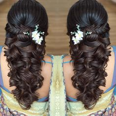 Ideas Wedding Hairstyles Updo Messy Easy For 2019 Quince Hairstyles, Side Braid Hairstyles, Indian Wedding Hairstyles, Mom Hairstyles, Hairstyles 2018, Pretty Hairstyles, Bridal Hair Buns, Messy Wedding Hair, Wedding Hairstyles