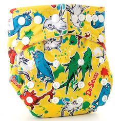 All in One Cloth Diaper One Fish - Dr. Seuss  @Dottie McDonald McDonald McDonald Jarvis