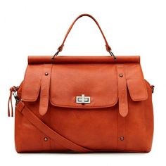 Charlie Work Bag.  A perfect way to add subtle color to your work look.  #Bags #WorkBags