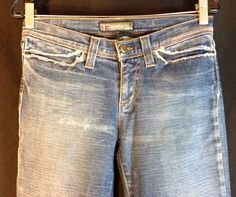 Joe's Flare Women Blue Jeans Size 28 Made in USA #JoesJeans #BootCut Brand Name Clothing, Joes Jeans, Blue Jeans, Jeans Size, Bermuda Shorts, Flare, Denim Shorts, Usa, Best Deals