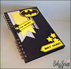 Personalizada con tu personaje favorito. Cool Office Supplies, Diy School Supplies, Homemade Birthday Cards, Diy Birthday, Cover Page For Project, Diy Notebook Cover, Scrapbook Cover, Mini Albums, Decorate Notebook