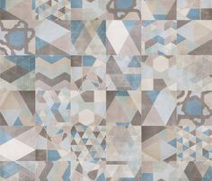 Porcelain Stoneware Wallfloor Tiles ONE MIX DECO By
