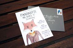 Fantastic Mr. Fox birthday party