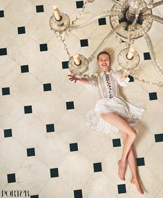 Natalia Vodianova / Porter Magazine 'Modern Heroines' by Ryan McGinley