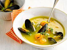 Découvrez la recette Soupe de moule Paul Bocuse sur cuisineactuelle.fr.