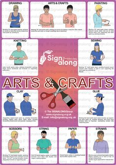 Arts & Craft Poster, J) Posters, Signalong Store Sign Language Book, Sign Language Chart, Sms Language, Sign Language Phrases, Sign Language Alphabet, Sign Language Interpreter, Learn Sign Language, British Sign Language, Makaton Signs British