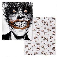 Batman: The Black Mirror Joker Ha Ha Fleece Throw Blanket  
