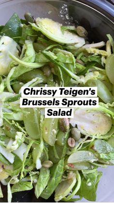 Vegetable Recipes, Vegetarian Recipes, Healthy Recipes, Healthy Salads, Healthy Eating, Real Food Recipes, Cooking Recipes, Sprouts Salad, Rabbit Food