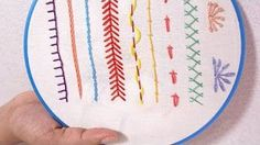 Hand Embroidery for Beginners - Part 3 | 5 Back Stitch Variations | HandiWorks #57 - YouTube