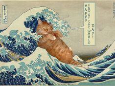 """""""La grande vague"""" de Kanagawa d'Hokusai - Enfin presque !"""