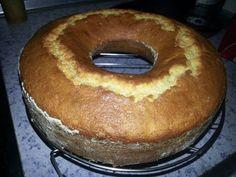 La receta para preparar un bizcocho de queso y limón. ¡Es muy fácil!