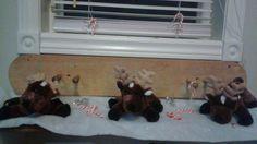 Slipping reindeer