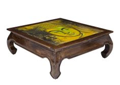 GALLERY COFFEE TABLE - SQUARE (BUDDHA)  $690.00