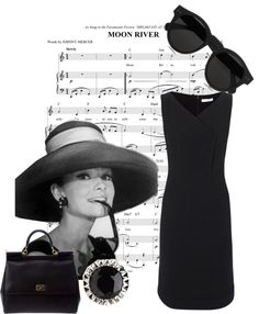 """Hepburn's Closet"" by classicalsparrow on Polyvore"