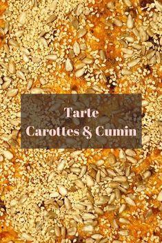 Tarte Carottes & Cumin. Un vrai délice