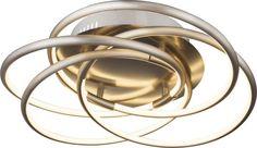 Globo BARNA Deckenleuchte Aluminium Nickel matt, 1xSMD LED