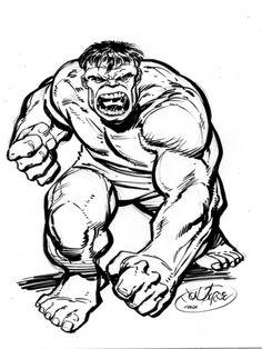 Hulk commission by John Byrne Comic Art