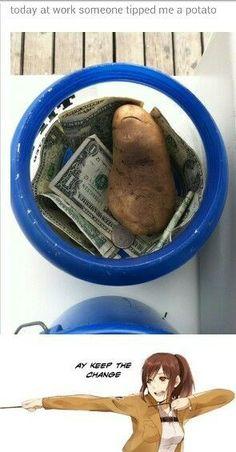 Potato Girl Strikes Again