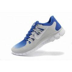 Nike Free 5.0+ Unisex Lysgrå Blå | Nike sko tilbud | Duty-free Nike sko på nett | Nike sko nettbutikk norge | ovostore.com