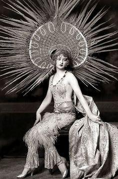 20s Headdress Headdress 1920s