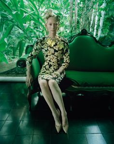 [photoshoot] Tilda Swinton par Tim Walker (W magazine)