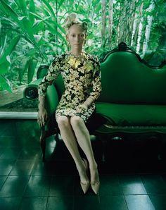 [photoshoot] Tilda Swinton par Tim Walker (W magazine)