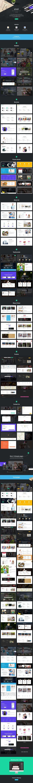 ID-Kit Multipurpose UI Kit  by Grooni on @creativemarket