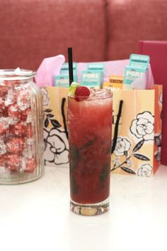 A super refreshing Bene-Berry Mojito #gabbishead