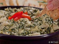 Parmesan Spinach Dip