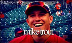 mike trout  favoritethings