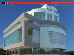 Astana Office Building Concept Design - Proektodesign