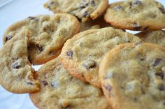 Crispy Chocolate Chip Cookies {Paleo}