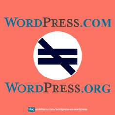 Guess what? There's a difference between wordpress.com and wordpress.org. Read MORE!