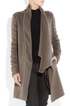 rick owens coat #minimalist #fashion